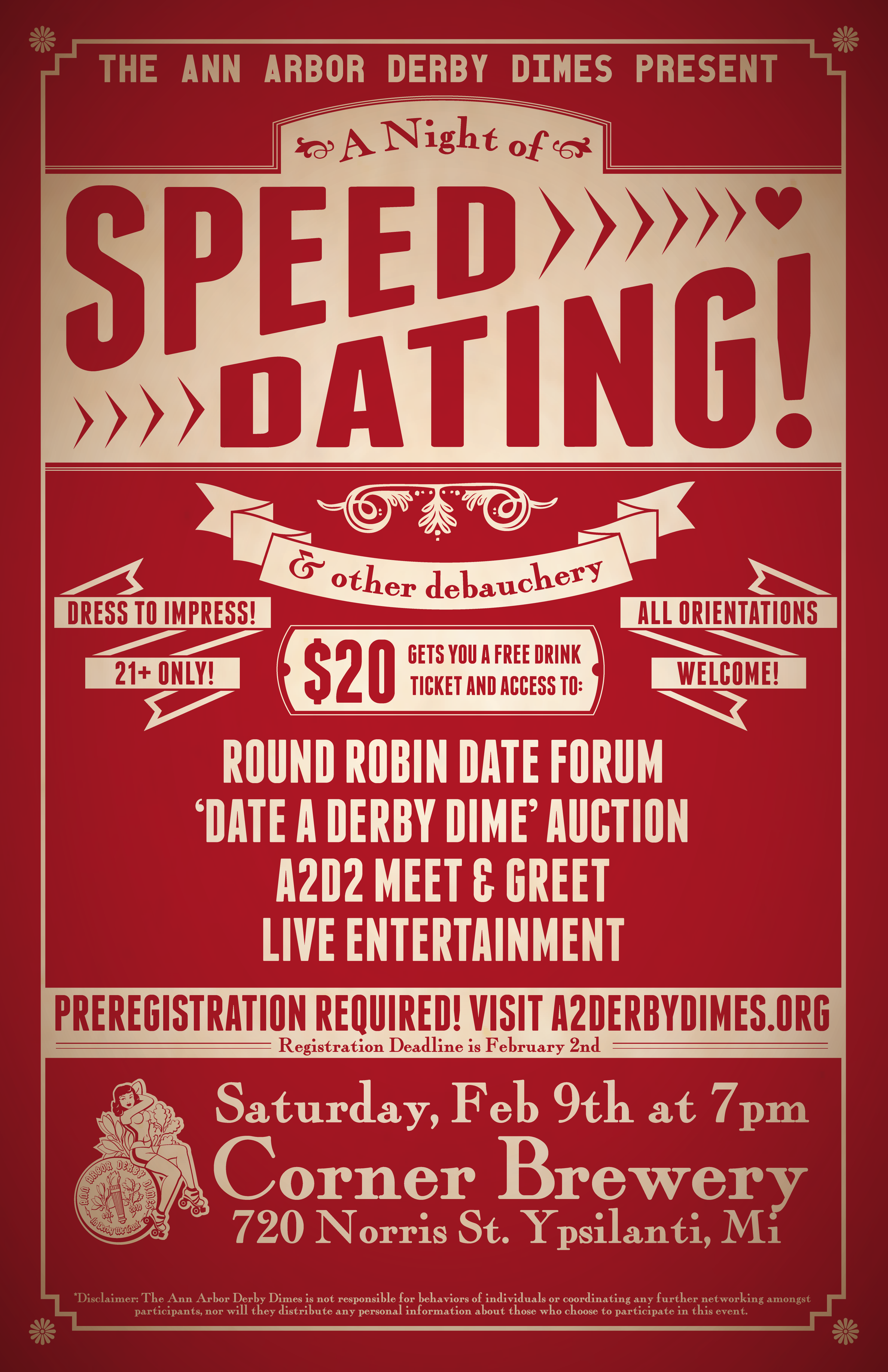 Speed dating in ann arbor mi are right
